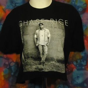 Chase Rice  - Tour - Distressed T-shirt - Black -